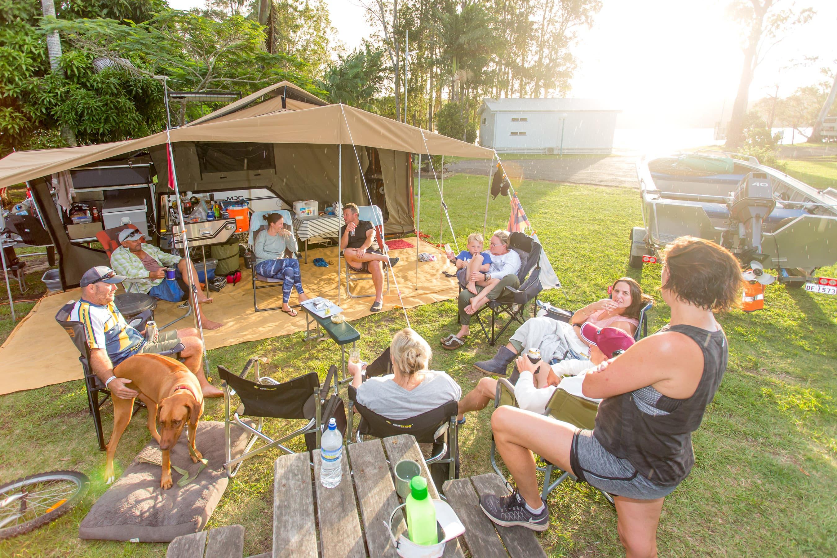 wooli-camping-river
