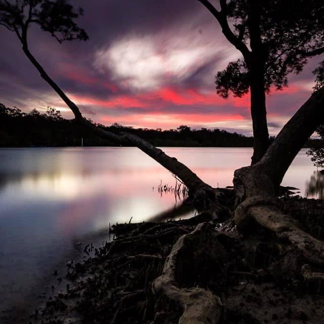 wooli-nathan-finch-sunset